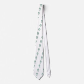 Leprechaun Head Front Mandala Tie