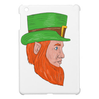 Leprechaun Head Side Drawing Case For The iPad Mini