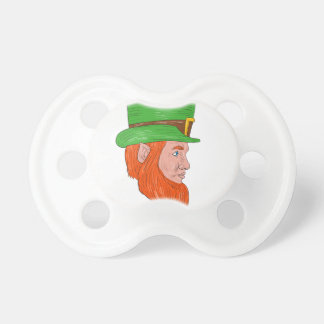 Leprechaun Head Side Drawing Dummy