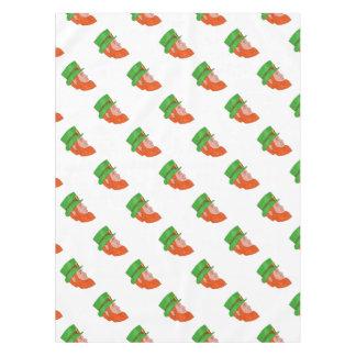 Leprechaun Head Side Drawing Tablecloth