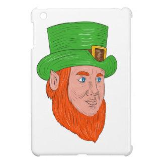 Leprechaun Head Three Quarter View Drawing Case For The iPad Mini