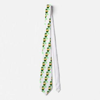 Leprechaun Lucky Clover Man Tie
