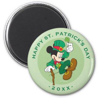 Leprechaun Mickey Mouse   St. Patrick's Day Magnet