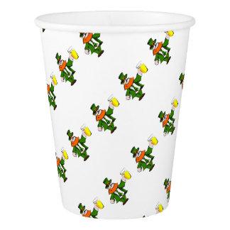 Leprechaun Paper Cup