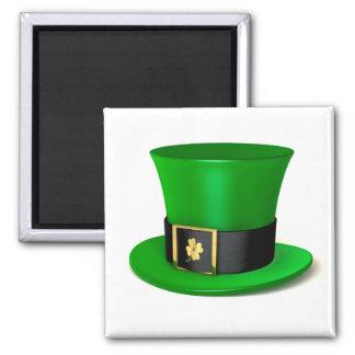 Leprechaun Shamrock Hat Magnet