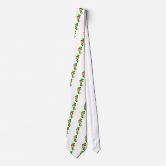 Leprechaun St Patricks Day Cartoon Mascot Tie