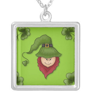 Leprechaun Sterling Silver Necklace