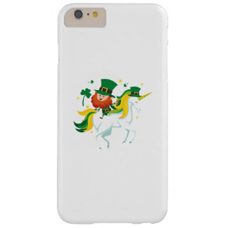 Lepricorn Unicorn St Patricks Day Kids or Girl Barely There iPhone 6 Plus Case