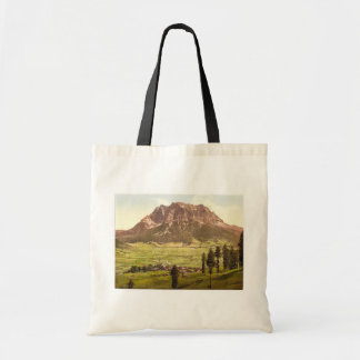 Lermoos, with the Zugspitze, Tyrol, Austro-Hungary Tote Bag