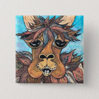 Leroy the Llama button