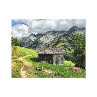 Les Aravis, Haute-Savoie Canvas Print