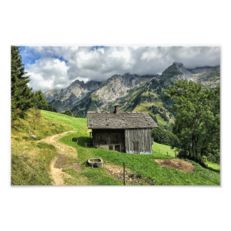 Les Aravis, Haute-Savoie, French Alps Photo Print