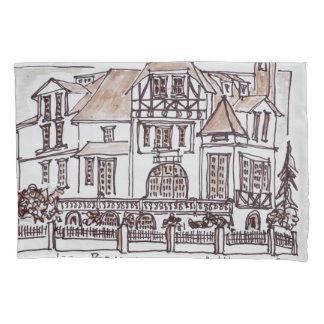 Les Bernaoux | Neufchatel Hardelot, France Pillowcase