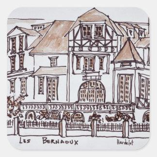 Les Bernaoux | Neufchatel Hardelot, France Square Sticker
