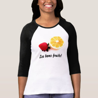 Les bons fruits...3/4 sleeves t-shirts