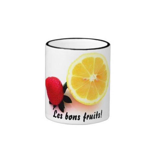 Les bons fruits! mug
