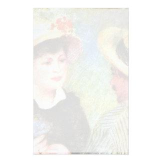 Les Canotiers By Pierre-Auguste Renoir Custom Stationery