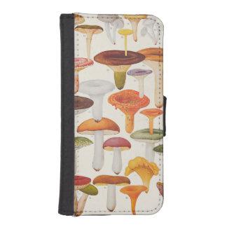 Les Champignons Mushrooms iPhone SE/5/5s Wallet Case