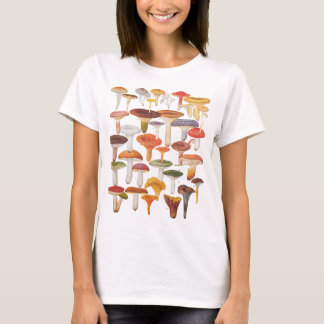 Les Champignons Mushrooms T-Shirt
