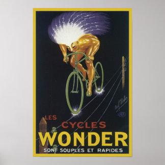 Les Cycles Wonder Poster