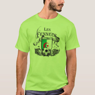 Les Fennecs Green Algeria Football shirt