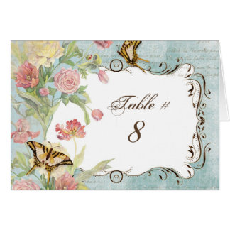 Les Fleurs Peony Rose Tulip Floral Flowers Wedding Card