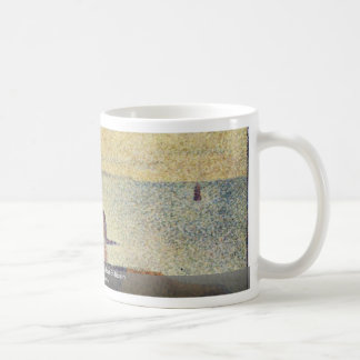 Les Grues Et La Percée à Port-En-Bessin Coffee Mugs