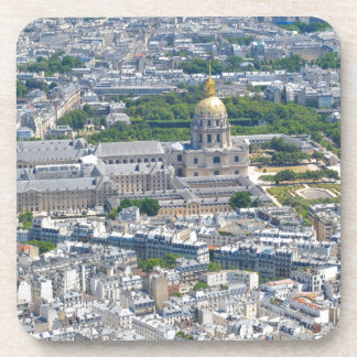 Les Invalides in Paris, France Drink Coaster
