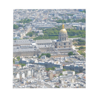 Les Invalides in Paris, France Notepad