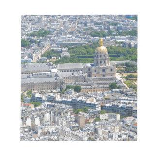 Les Invalides in Paris, France Notepad