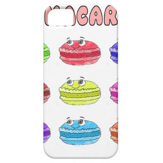 Les Macarons Cute Cartoon Barely There iPhone 5 Case