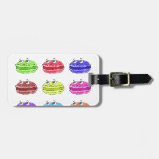 Les Macarons Cute Cartoon Luggage Tag
