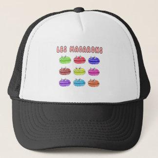 Les Macarons Cute Cartoon Trucker Hat