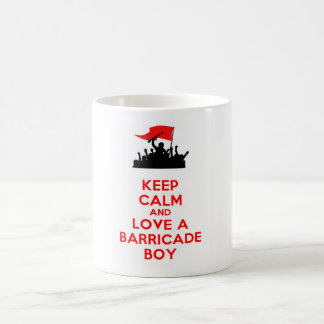 LES MISERABLES BARRICADE BOYS BASIC WHITE MUG