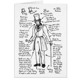 Les Misérables Love:  1832 Fashion Cheat Sheet Car Card