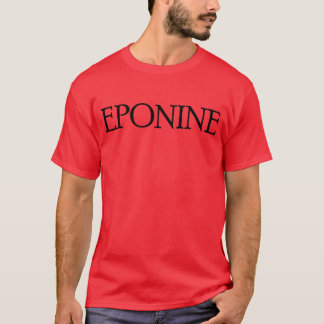 Les Misérables Love: I Swoon for Eponine Shirt