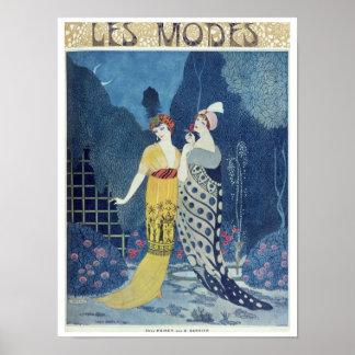 Les Modes Poster