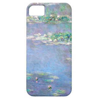 Les Nympheas Water Lilies by Claude Monet iPhone 5 Cover