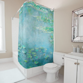 Les Nympheas Water Lilies Fine Art Shower Curtain