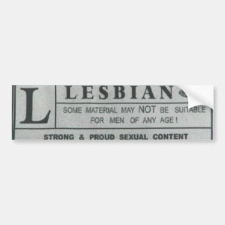 Lesbian Stickers