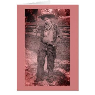 Lesbian Cowgirl Valentine's Day Card