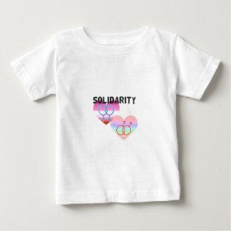 Lesbian Gay Solidarity Baby T-Shirt
