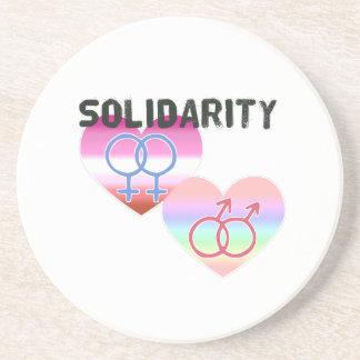 Lesbian Gay Solidarity Coaster