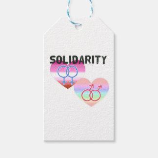 Lesbian Gay Solidarity Gift Tags