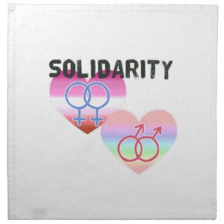 Lesbian Gay Solidarity Napkin
