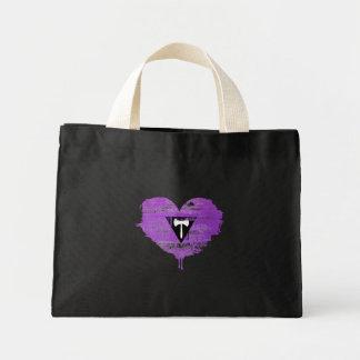 LESBIAN HEART - LESBIAN LOVE - MINI TOTE BAG