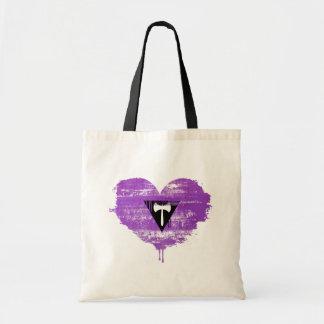 LESBIAN HEART - LESBIAN LOVE - TOTE BAG