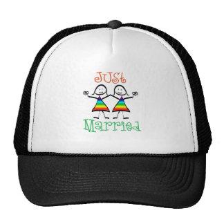 Lesbian Just Married Hats