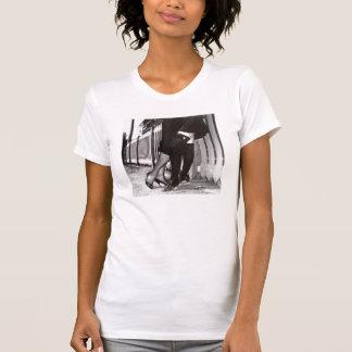 Lesbian Legs Kiss T-Shirt