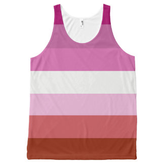 Lesbian Pride All-Over Print Singlet
